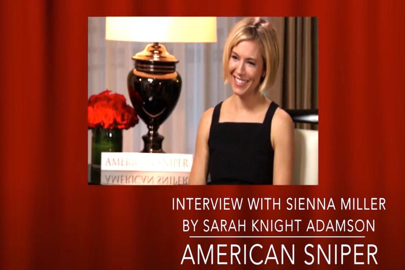Sienna Miller Video Interview with Sarah Knight Adamson