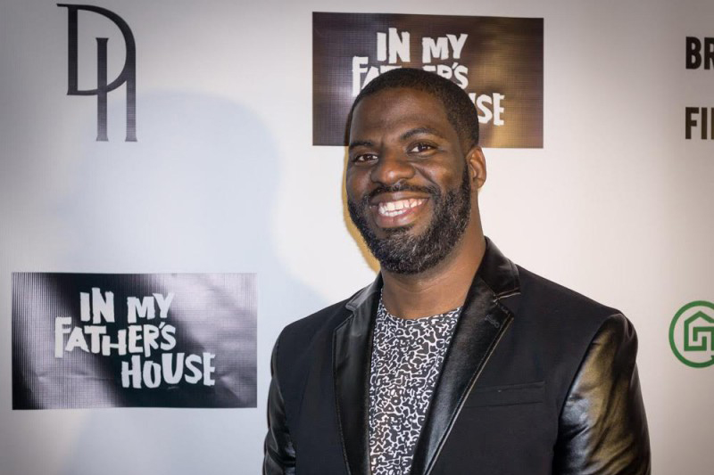 """Che """"Rhymefest"""" Smith Red Carpet Interview-'In My Father's House' by Patty Babin"""