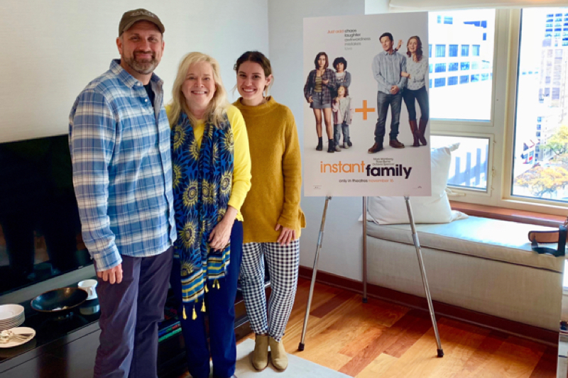 "Sean Anders Interview, ""Instant Family"""