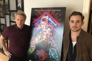 """Dacre Montgomery and Cary Elwes """"Stranger Things 3"""" Interview"""