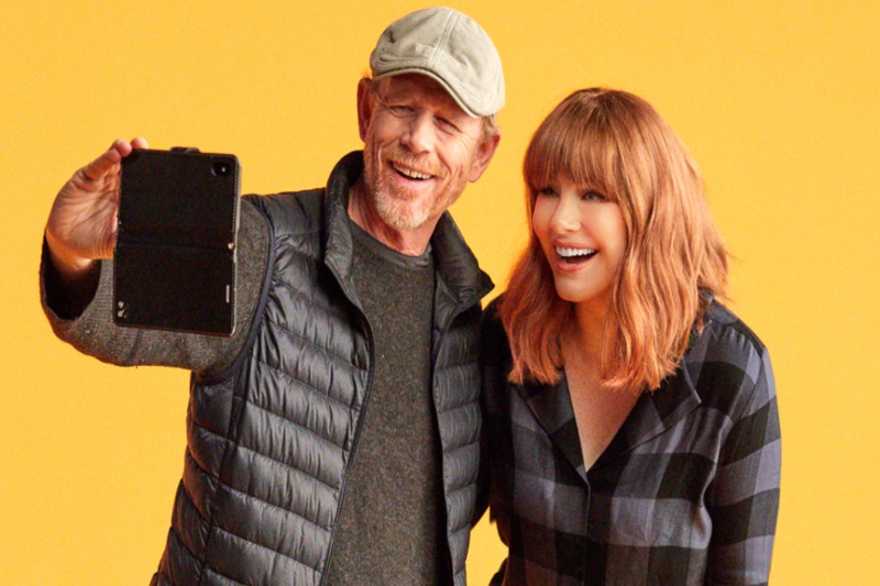 "Red Carpet Interview with Director Bryce Dallas Howard and Ron Howard of ""Dads"" #TIFF"