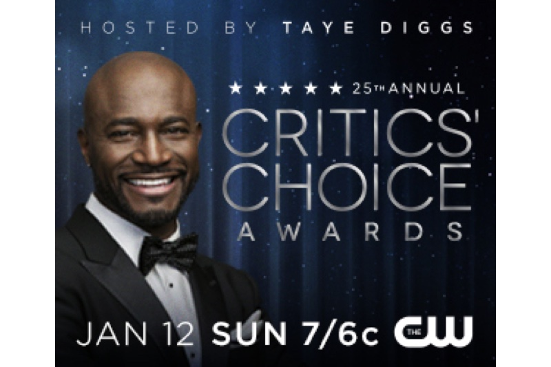 Critics' Choice Awards Live on CW Network Sunday, January 12, 2020 7:00 ET