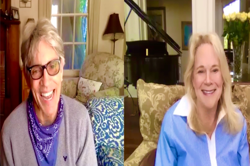 "Eric Roberts Interview via Zoom ""Inside the Rain"""