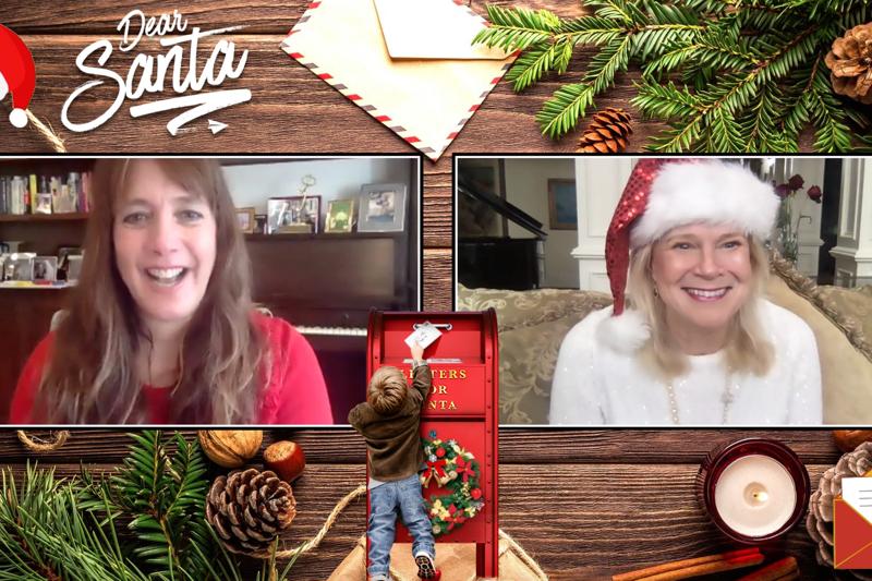 """Dana Nachman Video Interview """"Dear Santa"""""""