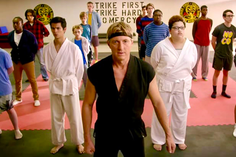 Cobra Kai (PG-14) ★★★ Hollywood 360 Radio Podcast (Seasons 1-3)
