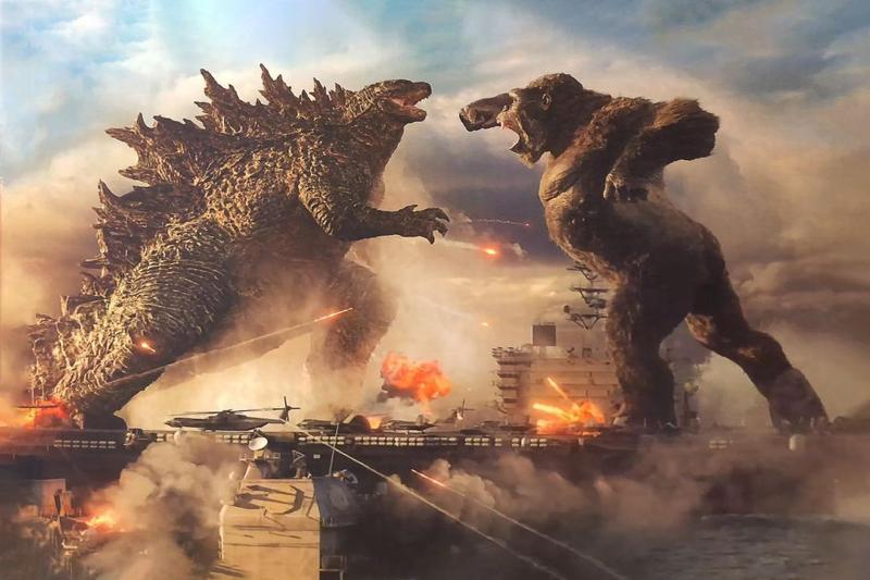 Godzilla vs Kong ★★★½ Hollywood 360 Radio Network Podcast
